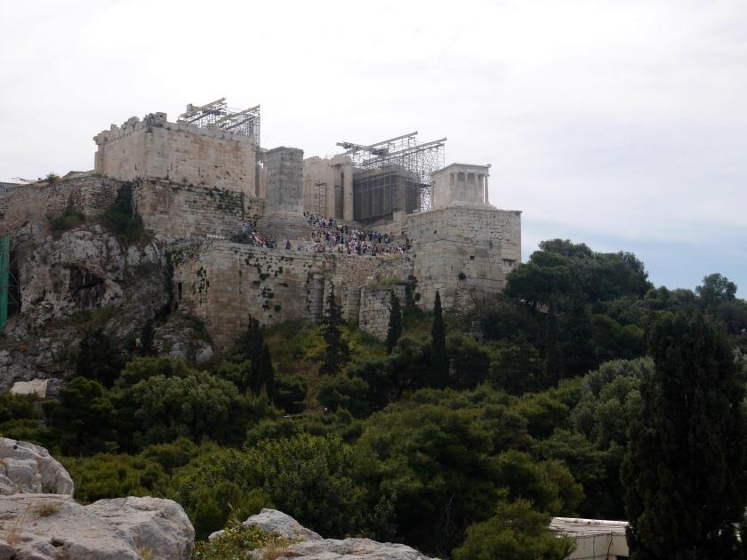 The Acropolis...under constant repair